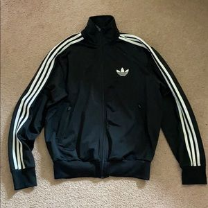 Adidas full zip jacket Size M